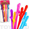 RAINBOW COLOR HEN PARTY DO ADULT WILLY STRAWS RUDE NIGHT OUT COCK DRINK SUCK BAR