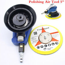 """5""""Air Sander Round Pneumatic Polisher Polishing Tool For Car Body Clear NiceLook"""