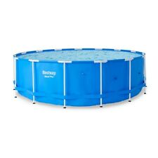 "Bestway Steel Pro 15-Foot x 48"" Round Frame Above Ground Swimming Pool (No Pump)"