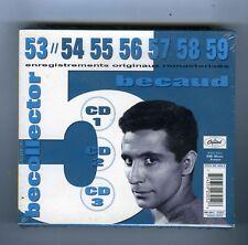 GILBERT BECAUD 3 CDS (NEUF) BECOLLECTOR 54, 56, 56, 57, 58, 59 -