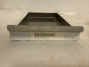 Gold Medal Popcorn Machine Cleanout Drawer GMI-512084 10x6.5x1 Inch Stainless