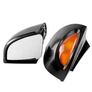 Rear View Rearview Side Mirrors Turn Light indicator Fit BMW R1150RT Motorcycle