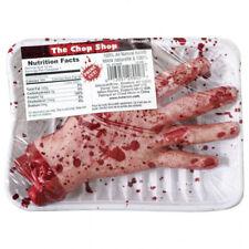 Chop Shop Meat Market Gruesome Severed Hand Halloween Horror Prop Decoration