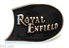 Clásico ROYAL ENFIELD Década 1960 Británico ROCKERO Moto Metal Insignia PARA