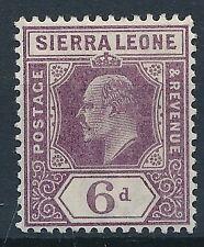 [55496] Sierra Leone 1903 good MNH Very Fine stamp (simple CA wtmk)