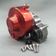 Axial SCX10 AX10 Assembled Center Transmission Gearbox W/ MOTOR GEAR Gun Metal