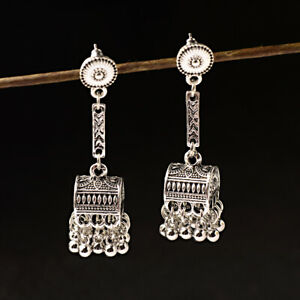 Bohemian Tassel Gypsy Earrings Jewelry Ethnic Bead Earring Indian Jhumka Jhumki
