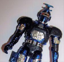 Vintage 1998 Beetleborg Metallix Blue Stinger Bandai Action Figure