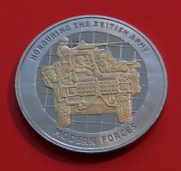 Medallion Reconnaissance Vehicles Modern Forces British Army Commemorative