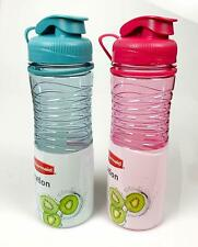 Rubbermaid Hydration Chug Style 20 oz. Bottle; 2 Pack - Pink and Blue | New!