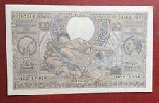 Belgique -  Magnifique  Billet de 100 Francs/20 Belgas 19-03-1943  (1)