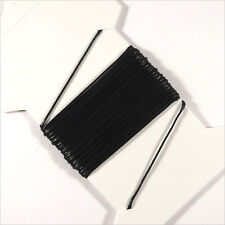 Cordon Coton Ciré 0,5mm – 5 Mètres Noir pour Colliers et Bracelets de perles