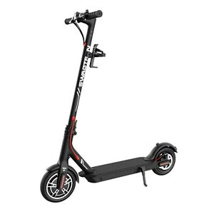 Swagtron SG5 Boost Folding Electric Scooter 18Mph Commuter E-Scooter 300W Motor