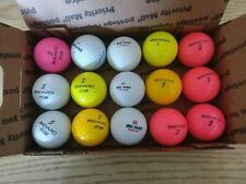 Used Bigyard Golf Balls Assorted Balls and Colors
