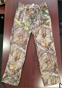 UA Under Armour Realtree Camo Scent Control Men's Fleece Hunting Pants ColdGear