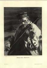 1907 Anders Zorn ~ Spielmann ~ Fiddler - German Artwork