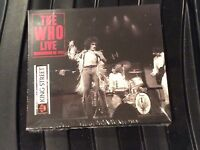 THE WHO. WASHINGTON DC 1973  KING BISCUIT HOUR  DOUBLE CD NEW/SEALED.