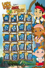 NICKELODEON 2 Sizes Available JAKE AND THE NEVERLAND PIRATES POSTER 09