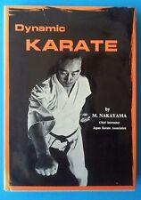 Dynamic Karate by Masatoshi Nakayama (HC) 1966 First Edition ~RARE~
