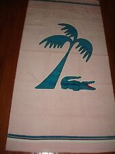 LACOSTE PINK BEACH TOWEL 36X72 INCHES