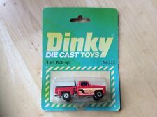 Dinky 4 X 4 Pickup Truck No 113! Look In The Shop!