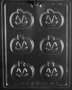 HALLOWEEN CHOCOLATE PUMPKIN OREO COOKIE MOULD 6 SHAPES ON 1 MOULD PUMPKIN OREO