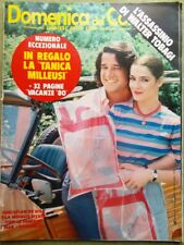 La Domenica del Corriere 7 Giugno 1980 Assassinio Tobagi Fogar Simeoni Don Lurio