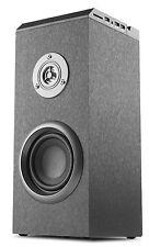 NGS Tubo-Altavoz Bluetooth 40W Torre de sonido () Pantalla Led Puertos Usb Ranura para tarjeta SD