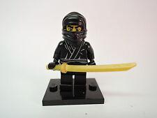 Lego Figur Sammelfigur Serie 1 Ninja  neuw. + Platte  COL012