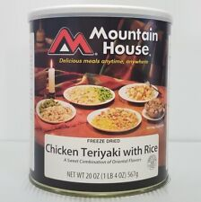 Mountain House Freeze Dried Food Chicken Teriyaki with Rice #10 Can