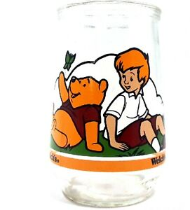 1997 Winnie the Pooh's Grand Adventure McDonald's Collectible Welch's Glass Jar