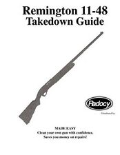 Remington Model  11-48   Takedown Disassembly Assembly Guide Radocy  NEW