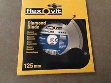 Disque diamant flexovit 125mm céramique