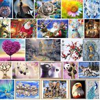 5D Point De Croix Broderie Diamant Cristal Peinture Mural Décor Maison Animal