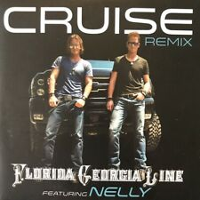 FLORIDA GEORGIA LINE FT NELLY CRUISE REMIX - RARE PROMOTIONAL CD SINGLE