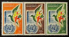 Sello DAHOMEY Stamp -Yvert y Tellier nº168 &169 y el aire Nº20 (a) N (Ben1)