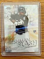 LUIS ROBERT Topps Chrome Refractor 2020 Freshman Flash RC Insert