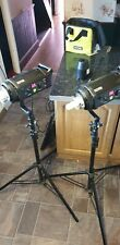 Bowens Gemini GM500R Twin Studio Flash Head Kit with stands