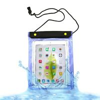 Waterproof Case Cover with Neck Strap for Apple iPad 2/3/4/Air/Pro 9.7/10.5/10.2