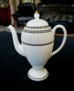 Beautiful Wedgwood Colonnade Black Coffee Pot