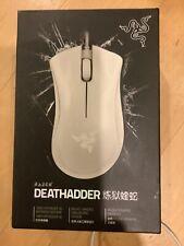 NEW SEALED Razer Deathadder Wired Optical Mouse - Mercury White