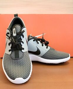 Nike Roshe G JR Golf Athletic Sneakers Shoes Black - Particle Gray Youth Size: 7