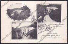 COMO ALBAVILLA 15 ALLA BOCCHETTA DI LEMNA - CAPANNA MARA - VEDUTINE Cartolina