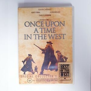 Once Upon A Time In The West Movie DVD Region 4 AUS Free Postage - Western