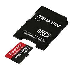 16GB Transcend microSDHC Class10 UHS-1 400X Premium Series w/adapter