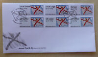 2014 JERSEY POST n GO SET OF 6 STAMPS FIRST DAY COVER