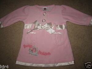 Harley Davidson Motorcycles HD Pink Dress Baby Girls 12m