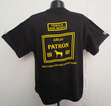 PATRON SHIRT XL TEQUILA ALCOHOL CERVEZA BEER ANEJO AGAVE MEXICO FINEST ELEGANT