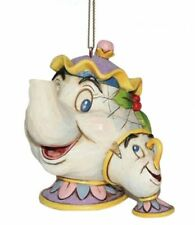 Disney Traditions Mrs Chips & Potts Tree Hanging Ornament NEW in BOX