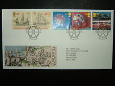 1992 EUROPA ROYAL MAIL FDC & LIVERPOOL SHS CV £5.50